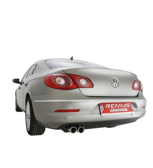 VW Passat CC Remus Exhaust (Double Tip)