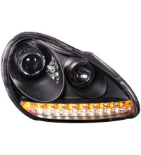 Porsche Cayenne 955 03 Projector Head Lamp w/LED